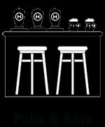 Pub and bar coffee